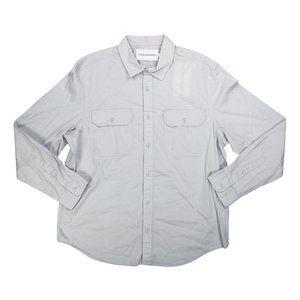 Calvin Klein Double-Pocket Button Down Shrit NWT